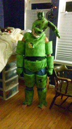 how to make a springtrap costume