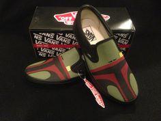 Star Wars Boba Fett Hand Painted Custom Vans