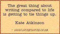 Quotable - Kate Atkinson - Writers Write Creative Blog