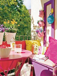Delightful Einen Kleinen Balkon Gestalten   So Klapptu0027s