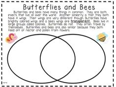Short informational passages to teach students how to