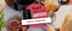 Wat maken met de Airfryer? Bekijk 30 Gerechten (Foto's + Recepten) Tapas, Air Flyer, Fries, Menu, Cards Against Humanity, Snacks, Arm, Menu Board Design, Appetizers
