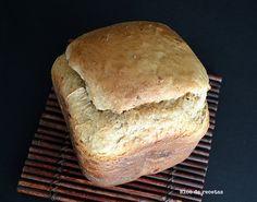 Bloc de recetas: Pan de espelta con higos y almendras en panificadora