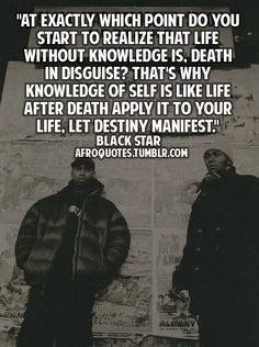 Mos Def and Talib Kweli are BlackStar - one of my faves. Hip Hop Quotes, Rap Quotes, Lyric Quotes, I Love Music, Music Is Life, Talib Kweli, Hip Hop Lyrics, Mos Def, Quote Of The Week