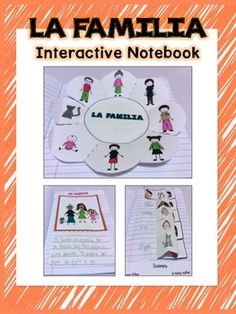 La Familia - Interactive Notebook: Activities for different levels!