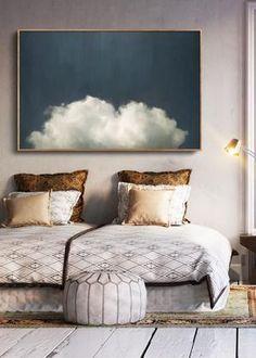 """""""Cumulus II"""" Cloud Painting"""