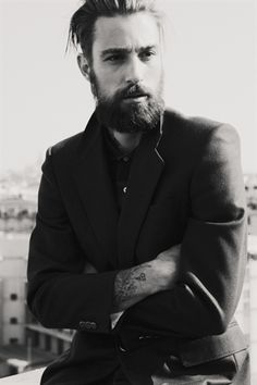 Honestly, with that beard I don't know if he's 26 or 62... but either way he's stylishly amazing! LOVE