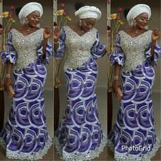 Asoebi dress by TKF Makeover by Latest African Fashion Dresses, African Print Dresses, African Dresses For Women, African Print Fashion, Africa Fashion, Tribal Fashion, African Wear, African Attire, African Women