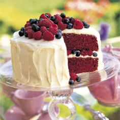 This cake is a southern tradition for festive occasions. It can be completely assembled and chilled one day before serving.