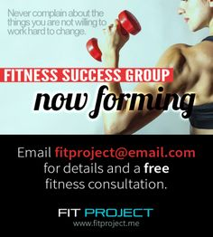 I'm currently looking for 3-5 ladies who are ready to improve their eating and exercise habits. WARNING: This may result in losing weight, dropping clothing sizes, and getting fit.   My next Fitness Success Group is forming NOW. I will help you choose a workout program that will get the best results for YOU personally, based on your fitness level, goals, and likes/dislikes. Then I'll help you through your program every single day in my private group on facebook.
