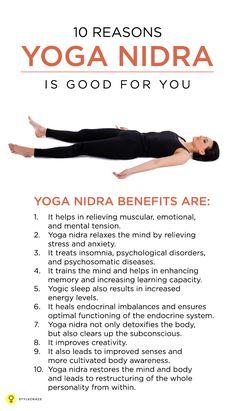 Yoga nidra is a special relaxation technique which has a deep effect on our stressful life. Here are 10 amazing health benefits of yoga nidra that ...