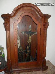 Oratório em madeira Séc. XIX - à venda - Antiguidades e Colecções, Vila Real - CustoJusto.pt