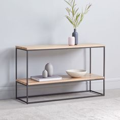 west elm's console tables are the perfect accent pieces for any modern living room. Find contemporary console and sofa tables that complement a range of decor. Metal Furniture, Modern Furniture, Furniture Design, Modern Console Tables, Sofa Tables, Outdoor Coffee Tables, Home Room Design, Bedding Shop, Living Room Chairs