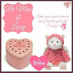 Scentsy has wonderful Valentine's gift ideas for your sweetheart!