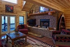 North Georgia Luxury Cabin   Ellijay GA Cabin For Rent   Blue Sky Cabin  Rentals