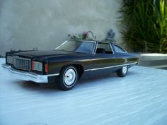1974 Chevy Caprice 1/25 scale model car.