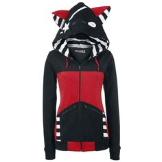 Bye Bye Kitty Hooded zip »Star Kitty« | Buy now at EMP | More Rock wear Hooded jackets available online ✓ Unbeatable prices!