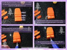 Lego Figure Tutorial Tutorial on Cake Central Ninja Lego Cake, Ninja Birthday Cake, Lego Movie Birthday, Bolo Ninjago, Bolo Lego, Lego Ninjago Cake, Cake Topper Tutorial, Fondant Tutorial, Cake Toppers