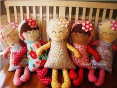 simple doll pattern - Google Search