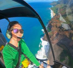 Start your personal journey with MarsQuest this summer!   In the picture, it is our classic Momentum collection in Carbon Black x Rose. Also available in other colors, you name it!🤩 Napali Coast Kauai, Mauna Loa, Helicopter Tour, Eye Strain, Kauai Hawaii, Tours, Wayfarer Sunglasses, Big Island, Croatia
