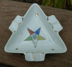 Vintage Lefton Eastern Star Ashtray | eBay