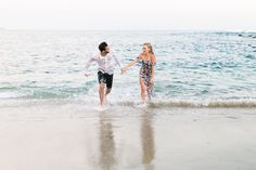 It really hits you when you get your engagement photos back...I'M GETTING MARRIED! It was a no brainer when choosing where to take engagement photos because we knew we had to go back to where it all started! Our first date was a walk on the beach, our home roots were made at the beach and of