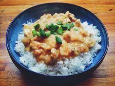 Arroz con pollo al curry  #curry #cena #hechoencasa #enjoy