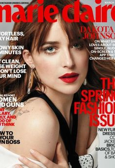 Dakota Johnson Has Never Looked Better as Marie Claires March Cover Star (Forum Buzz) http://ift.tt/1Q9TUoh  Starring in a movie like Fifty Shades of Grey was bound to get you some exposure at some point and with two Vogue cover appearances already under her belt Dakota Johnson just landed her first Marie Claire cover. The American title unfortunately got itself off to a rocky start this year failing to deliver with messy and overstyled covers. But the publication appears to redeem itself…
