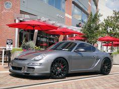 "Modulare Wheels | Porsche Cayman S | 20"" Modulare B1 satin black - Teamspeed.com"