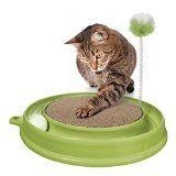 sparen25.com , sparen25.de#10: Catit 51096 Katzenspielzeug Play n Scratch mit Katzenminze, grünsparen25.info