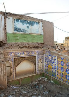 Destroyed Old Town Of Kashgar, Xinjiang, China by Eric Lafforgue, via Flickr