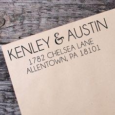 Scribble Return Address Self Inking Stamp, Wedding Return Address Stamp, Custom Address Stamp - 006 by IntricutCreations on Etsy Custom Address Stamp, Wedding Invitation Envelopes, Wedding Stationary, Invite, Branding, Layout, Design Poster, Self Inking Stamps, Etsy Shipping