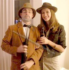Homemade Indiana Jones Couple Costume: This Halloween, my girlfriend and I wanted to do a couple's costume, but we wanted to steer clear of the typical Halloween cliches. Since we're both big