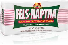 http://www.felsnaptha.com/ THE best stain remover. Ever. By far. $1.29 a bar.