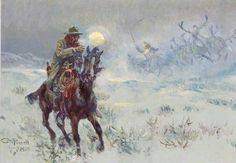 seeing santa claus 1910 Charles Marion Russell art for sale at Toperfect gallery. Buy the seeing santa claus 1910 Charles Marion Russell oil painting in Factory Price. All Paintings are Satisfaction Guaranteed Charles Marion Russell, Cowboy Poetry, Western Christmas, Country Christmas, Vintage Christmas, West Art, Le Far West, Mountain Man, Old West