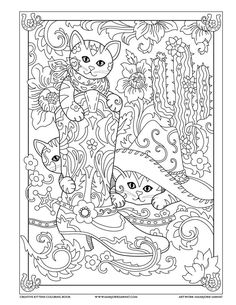 Cowboy Boot : Creative Kittens Coloring Book by Marjorie Sarnat