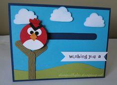 angry bird penny slider card