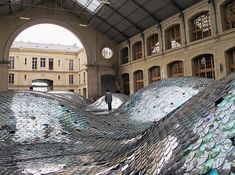 Wastelandscape Installation at the Cenquarte in Paris by Elise Morin and Clémence Eliard