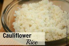 Cauliflower Rice (Zero Weight Watchers points plus!)