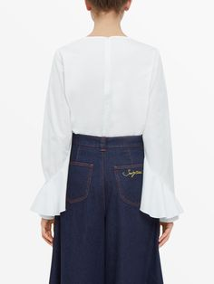 See By Chloé White Shirt - Shop Online at Style.com