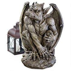 Silas the Sentry Gargoyle Sculpture