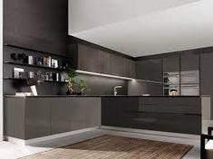 Italian kitchen cabinets – modern and ergonomic kitchen designs Modern Kitchen Cabinets, Modern Kitchen Design, Interior Design Kitchen, Home Design, Küchen Design, Design Ideas, Small Cupboard, Budget Kitchen Remodel, Kitchen Pictures