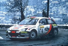 OZ wheels supported also the great Colin McRae - here in 2001 with Ford Focus WRC performing during Rally Monte Carlo #OZRACING