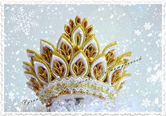Kanzashi crown