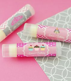 Blank Lipbalm Tubes Party Favors