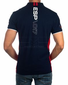 93% Algodón3% Elastan ... Cut Up Shirts, Cheer Shirts, Printed Shirts, Camisa Polo, T Shirt Yarn, T Shirt Diy, One Direction Shirts, Polo Shirt Design, Mens Polo T Shirts