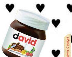 Personalisierte Nutella Gläser