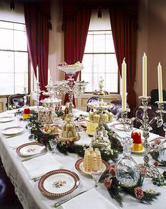 Osborne House dining room ~ Queen Victoria's home