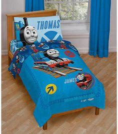 Thomas Friends 4 Piece Toddler Bed Set Thomas Bedroomtrain