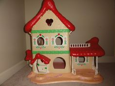 Why did my mom lose this?!     Vintage Strawberry Shortcake Berry Happy Home House Dollhouse 1983 Am. Gtgs HTF! | eBay